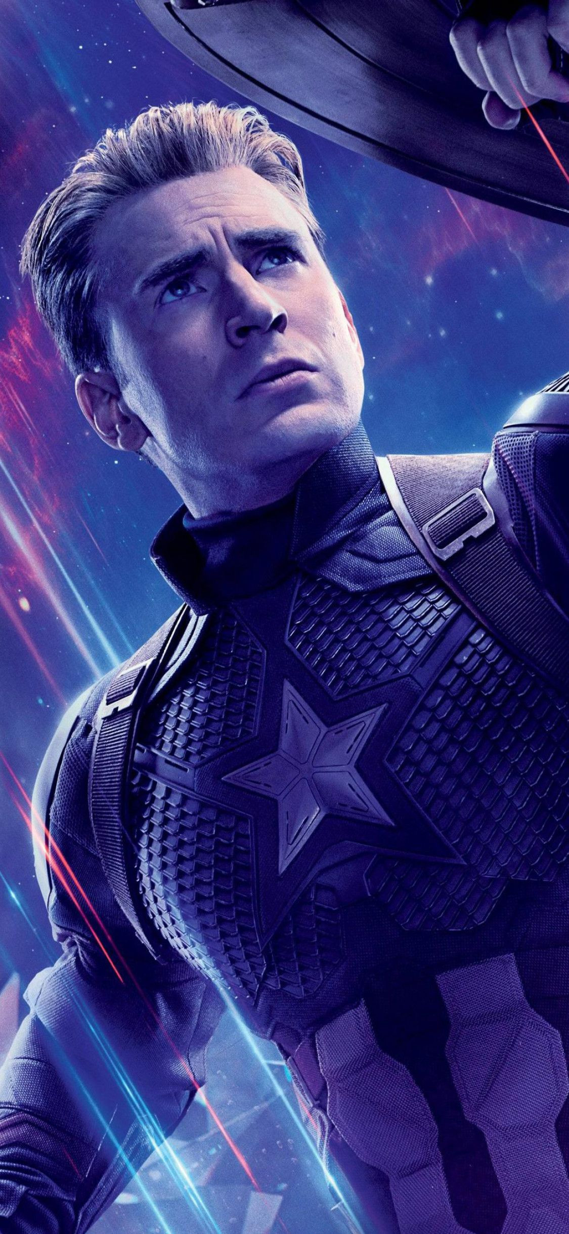 Captain America In Avengers Endgame Wallpapers