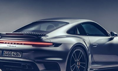 4k Porsche 911 Wallpaper Beautiful Rear View Porsche 911 Turbo S 950x1534 Wallpaper