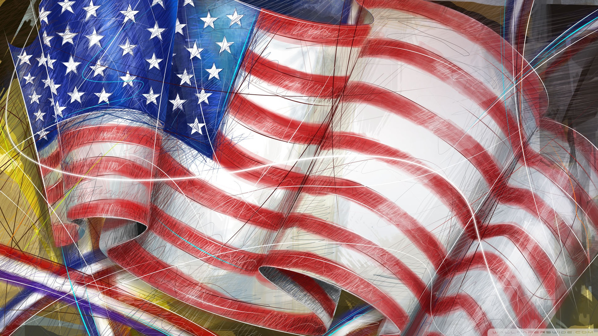 american flag independence day wallpapers