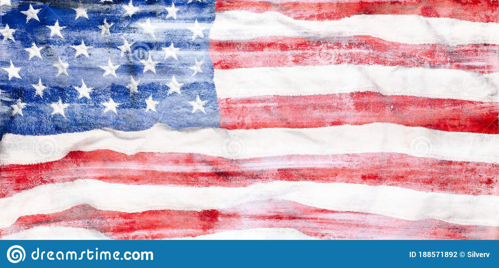 rough painted us american flag usa abstract patriotism background wallpaper