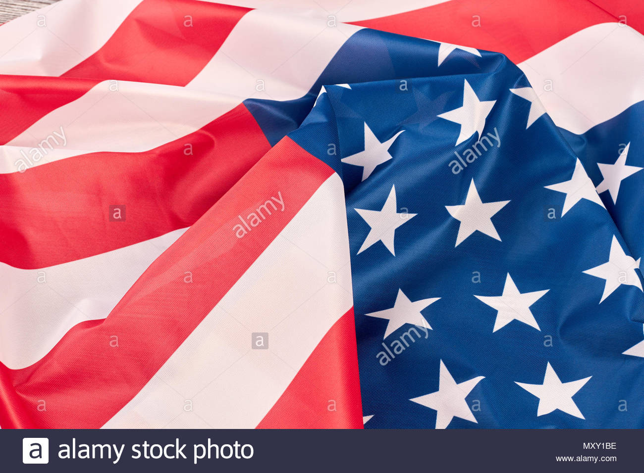 usa flag background close up crumpled flag of united states of america american flag wallpaper MXY1BE