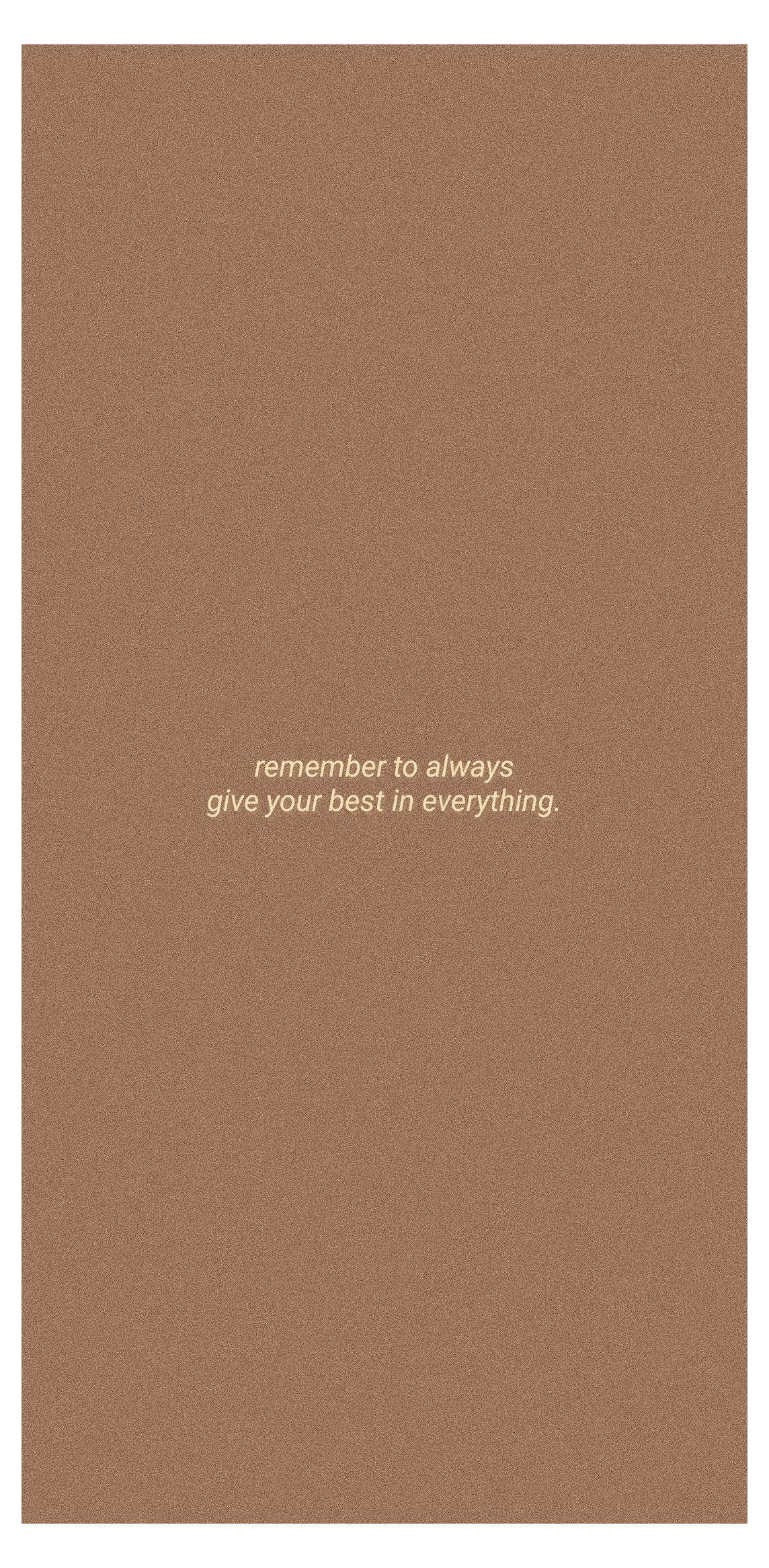 brown aesthetic wallpaper quotes