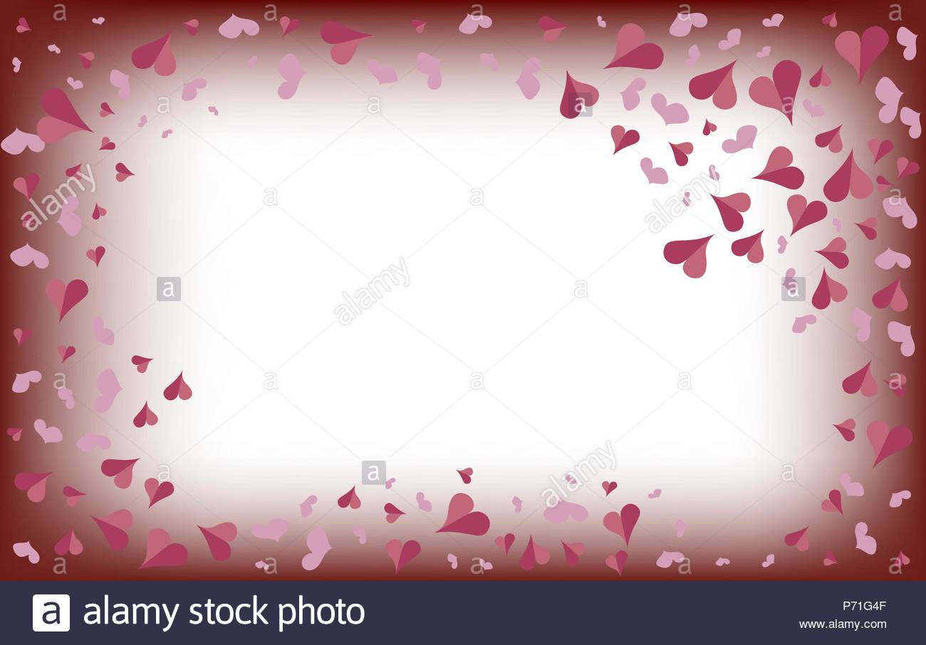 delicate pink hearts on a blurred white background valentines day fantasy on theme of holiday beautiful background wallpaper P71G4F
