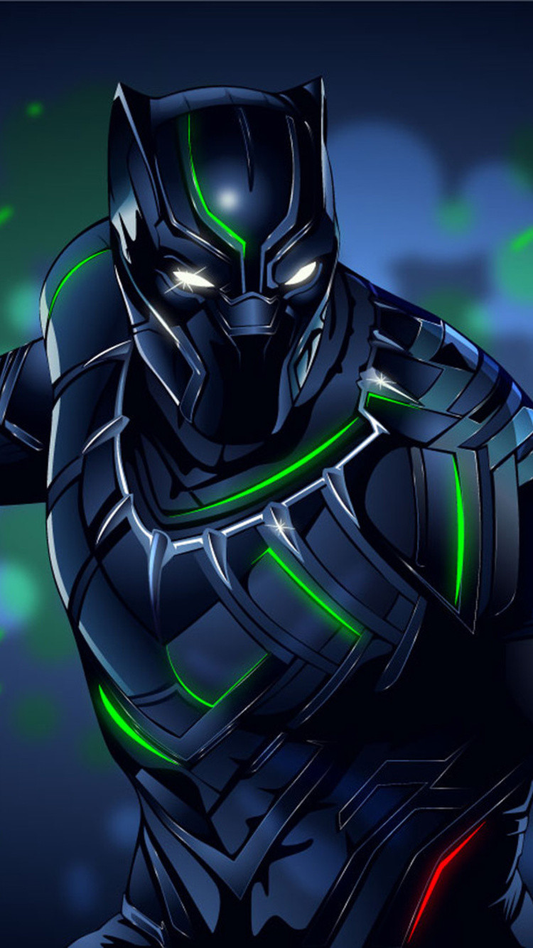 black panther amazing art sh 750x1334