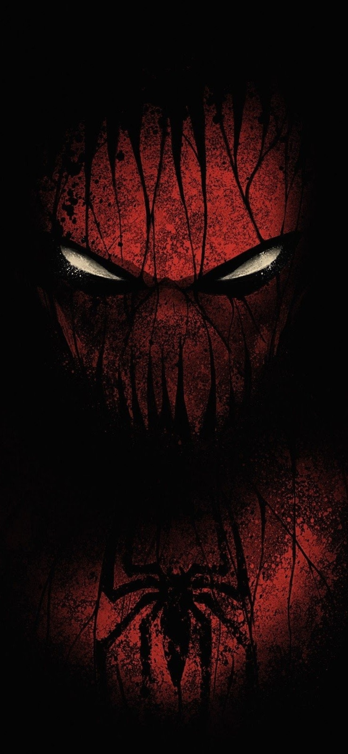red black spiderman jc 1125x2436