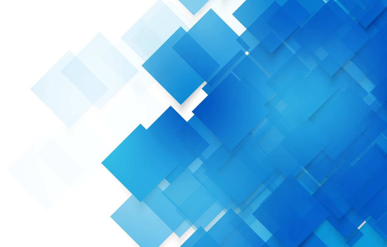 vector blue squares abstract background geometric