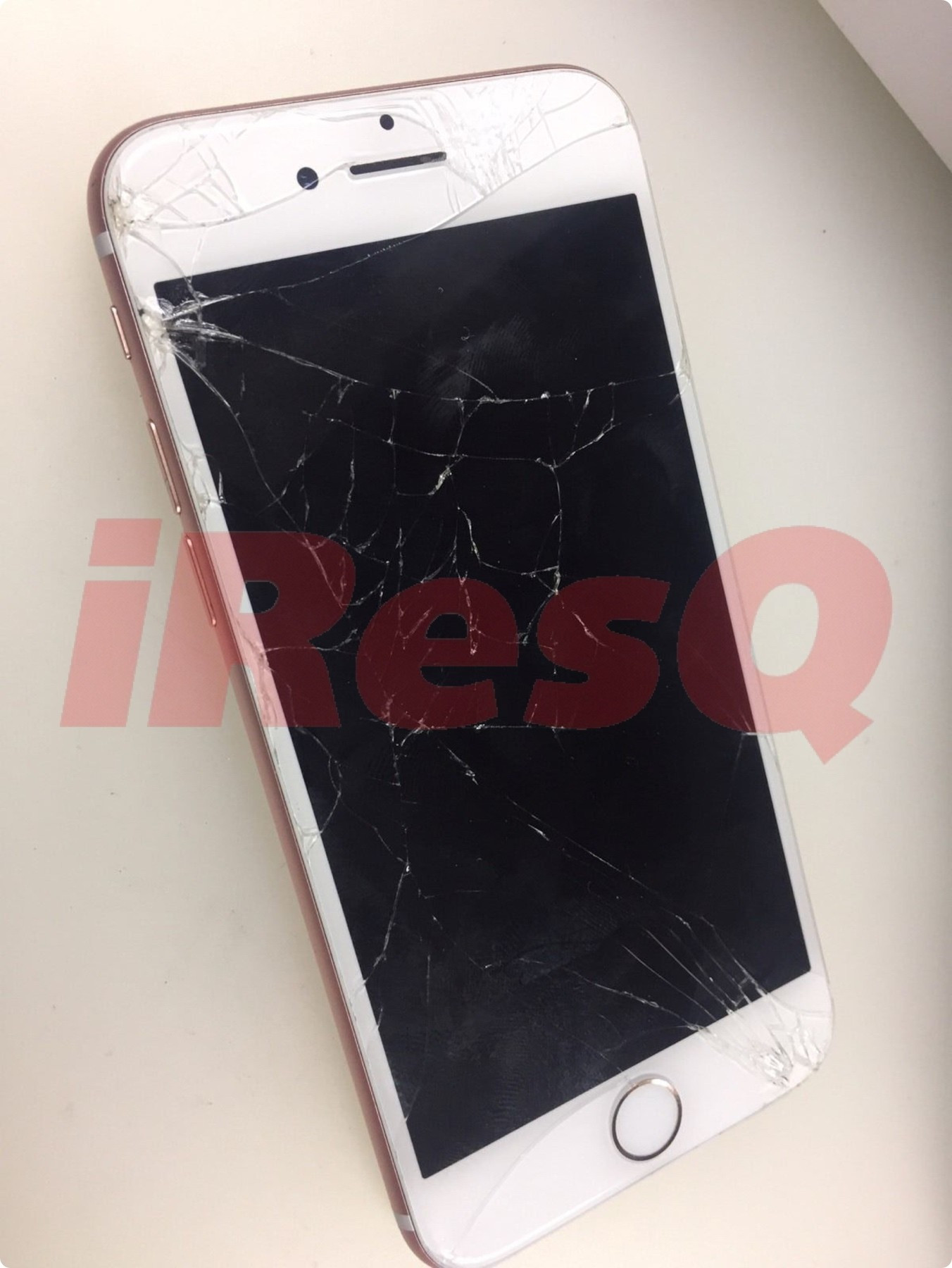 iphone 7 broken front glass retina display lcd and digitizer repair replacement service