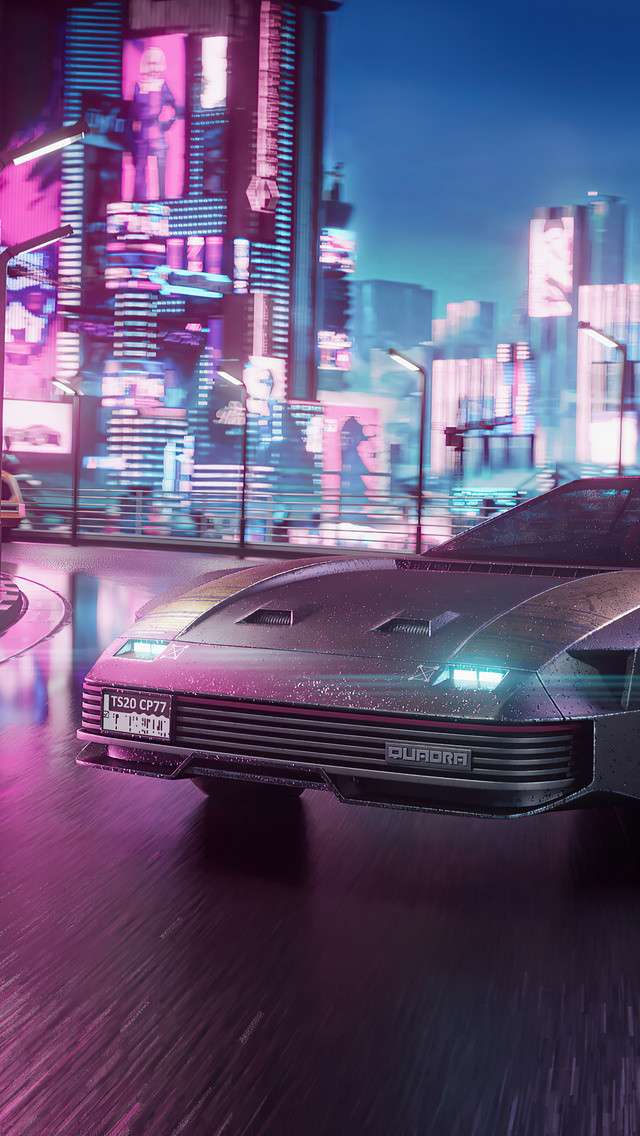 Quadra V Tech Cyberpunk 2077 4k Wallpapers