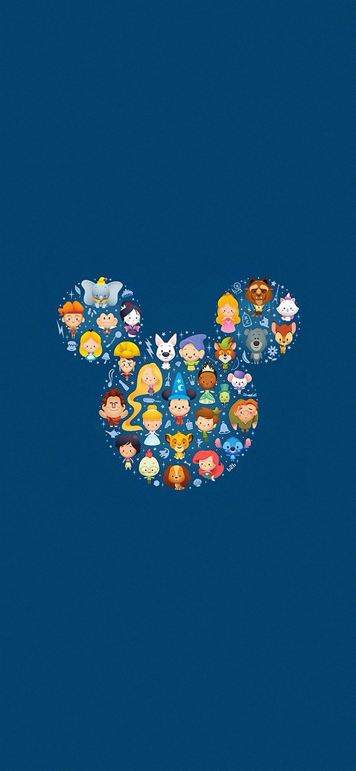 Disney art character cute iphone 11 pro max wallpaper ilikewallpaper