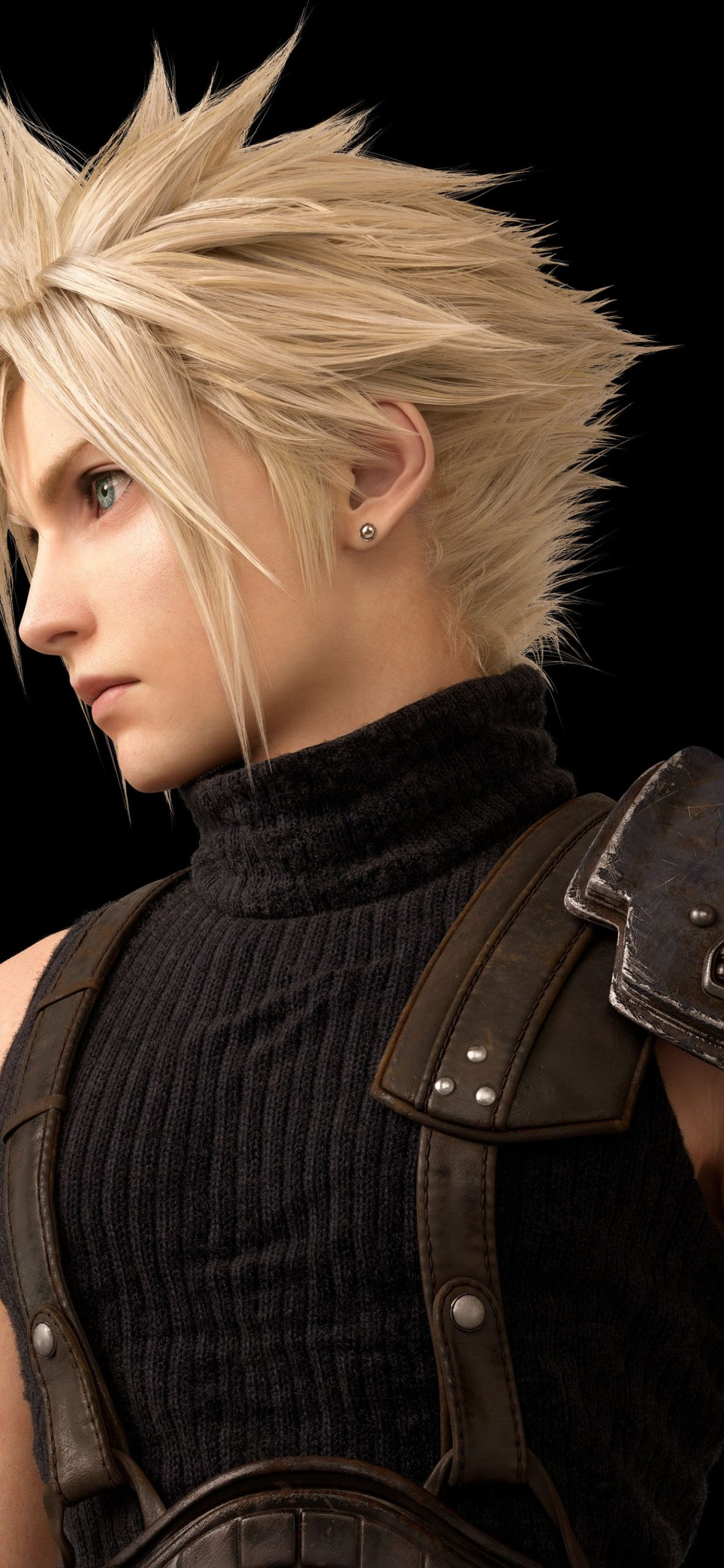 cloud strife final fantasy 7 remake 8k
