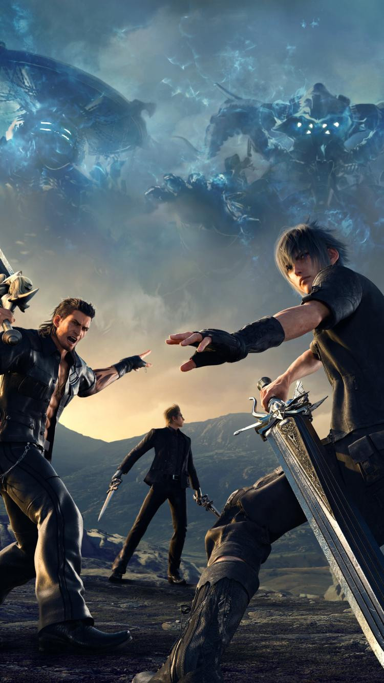 Final Fantasy 15 Iphone Wallpaper 47 Group Wallpapers