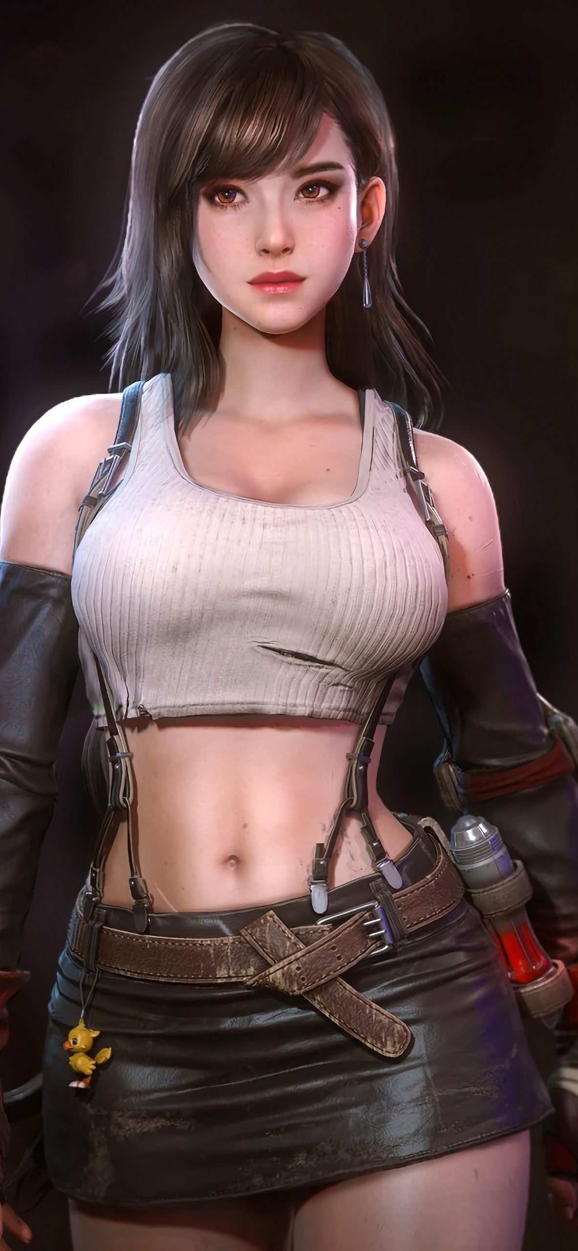 tifa lockhart final fantasy 7 remake 4k 96