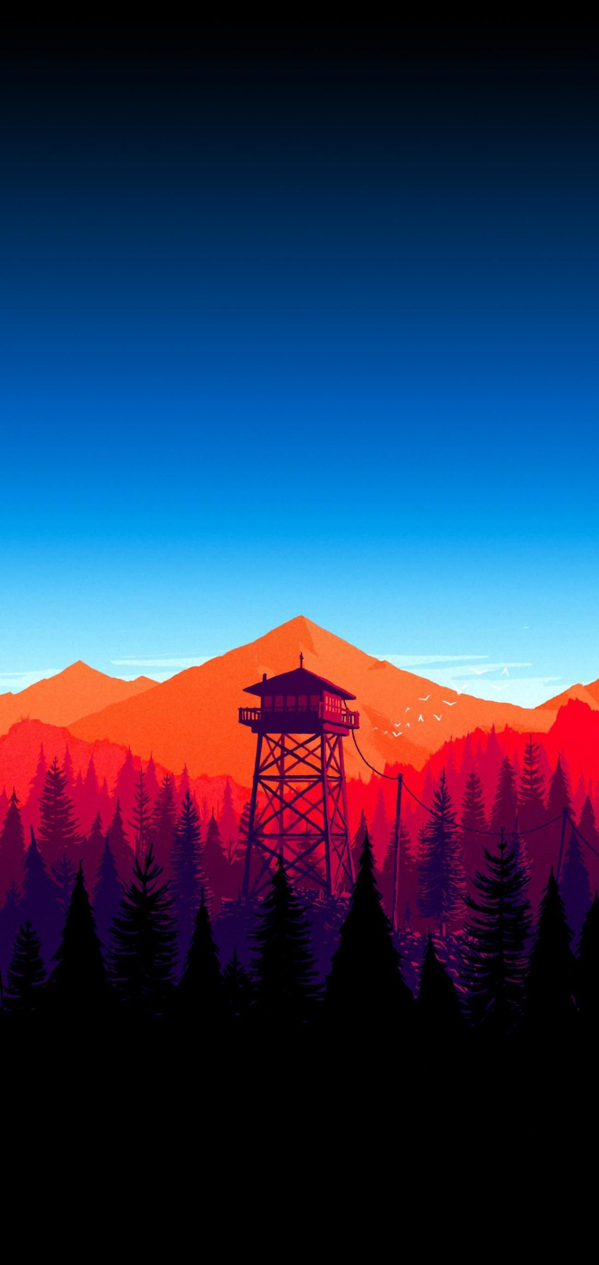 Firewatch also makes for an awesome wallpaper