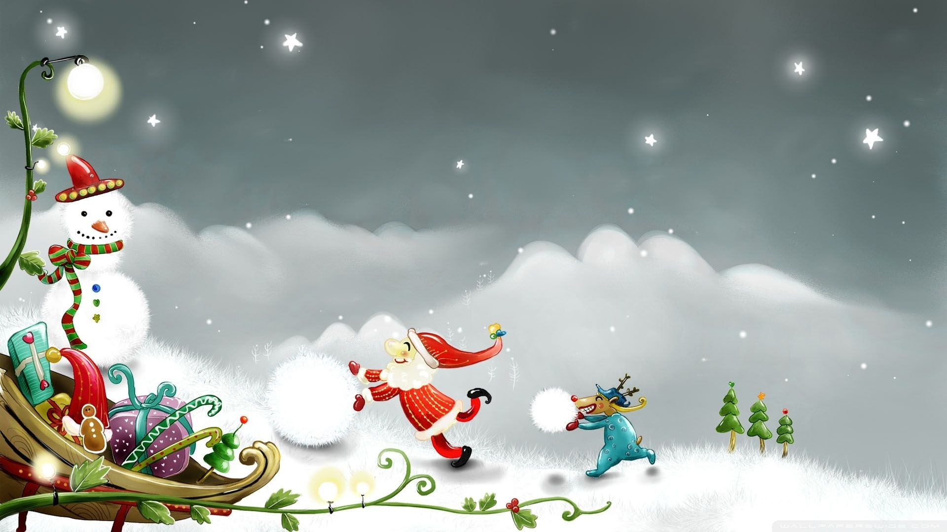 hTmTJT free animated christmas wallpaper for android free christmas