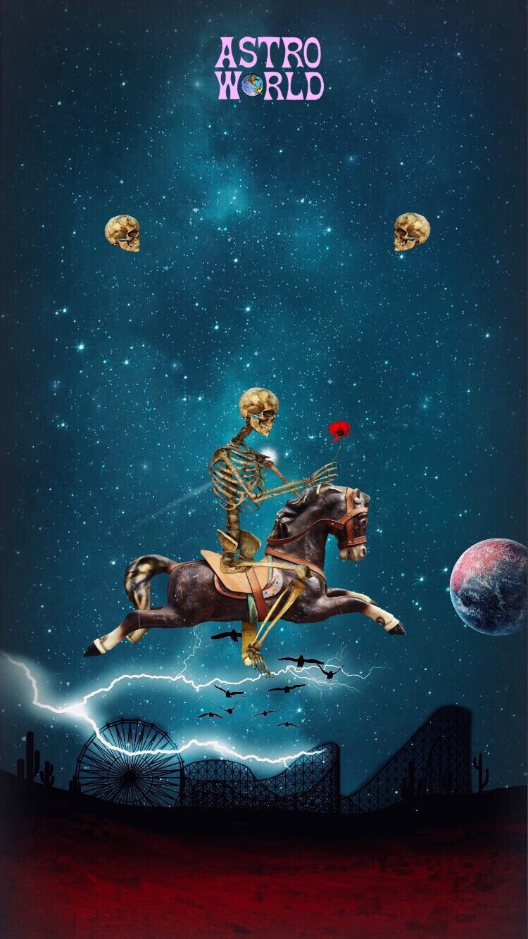 lock screen astroworld wallpaper iphone xr