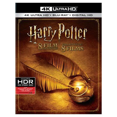 Harry Potter 8 Collection 4K Ultra HD Blu ray bo