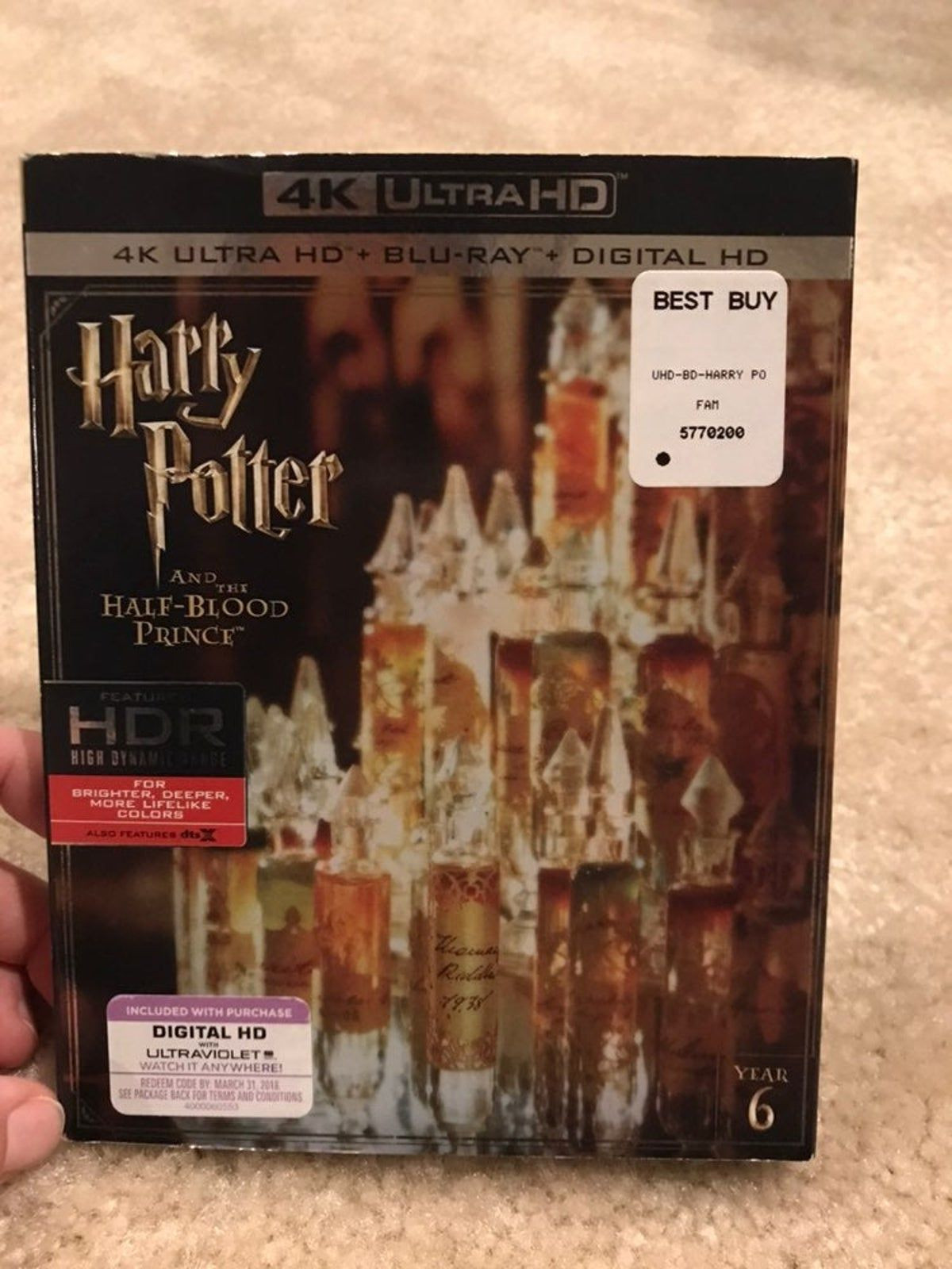 Harry Potter and the Half Blood Prince 4 on Mercari