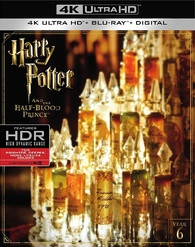 Harry Potter and the Half Blood Prince 4K Blu ray Release Date March 28 2017