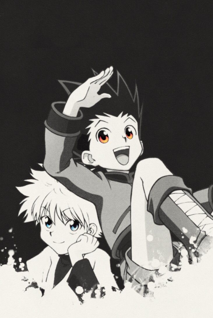 hmhixw killua and gon hunter x hunter iphone