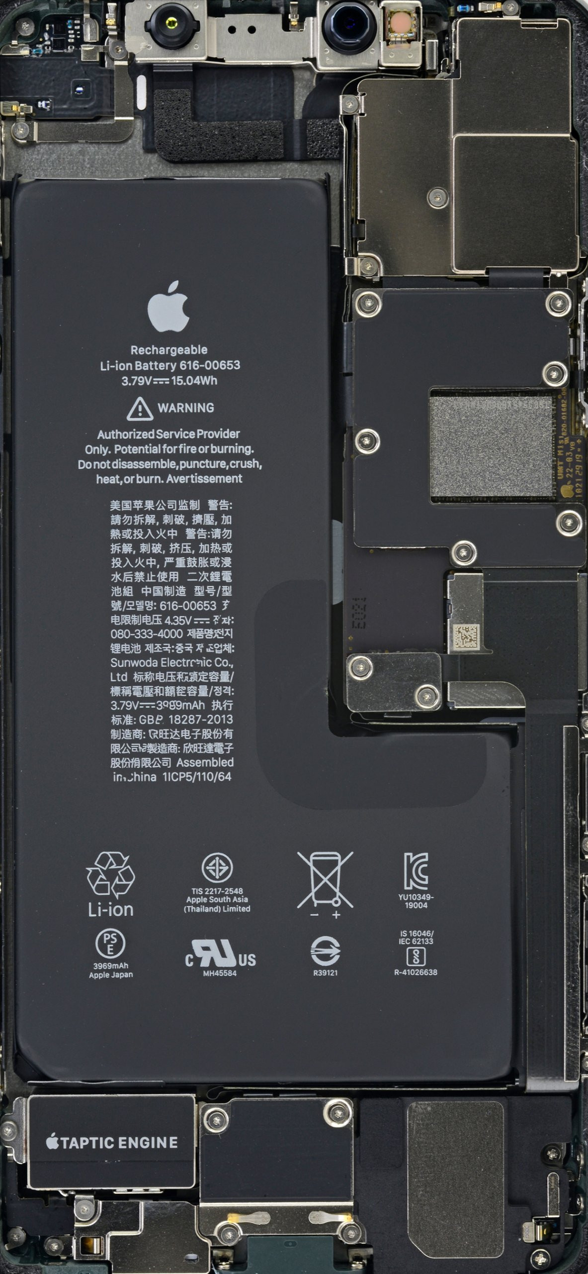 iphone 11 and 11 pro max teardown wallpapers