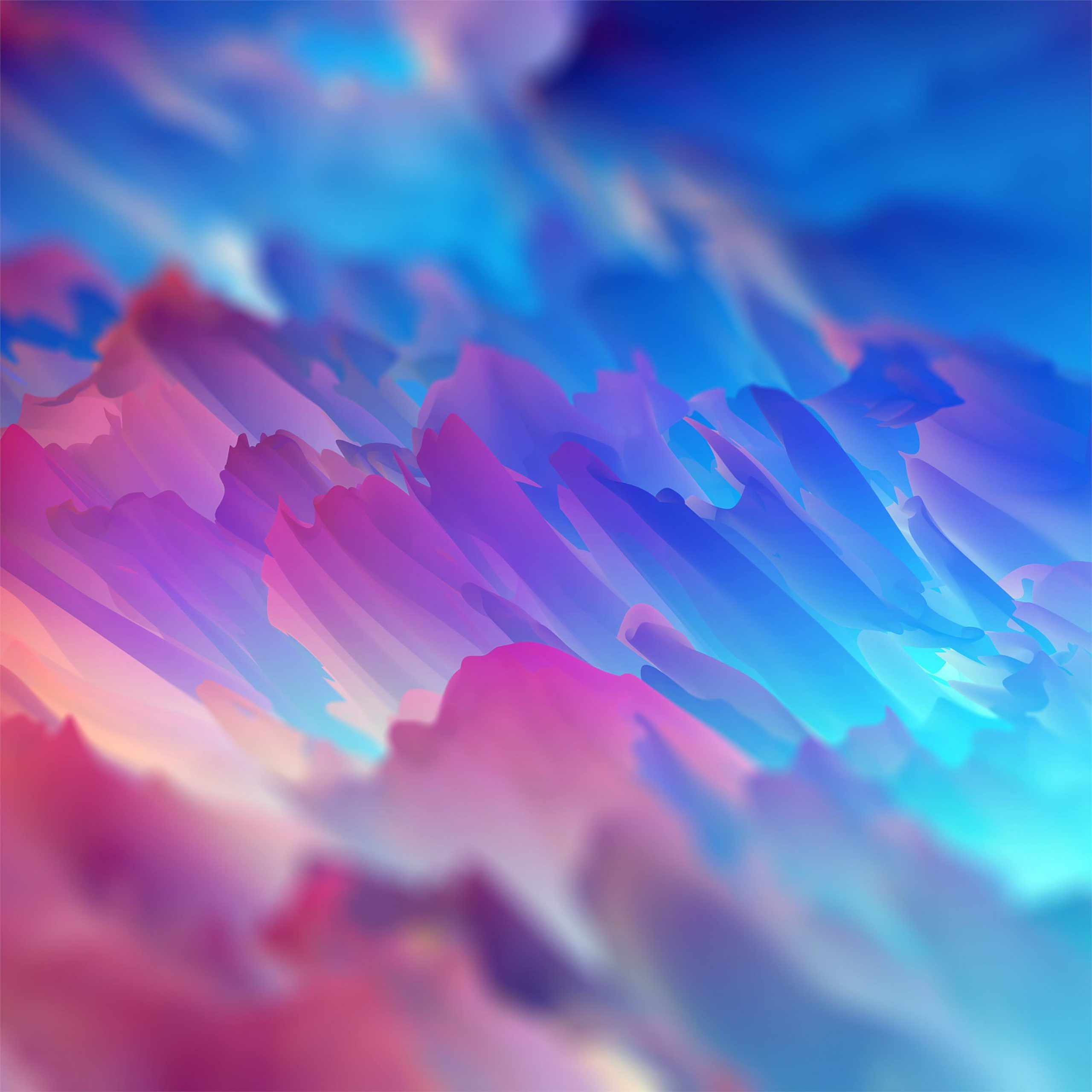 abstract colorful space colors art 4k ipad pro wallpaper ilikewallpaper
