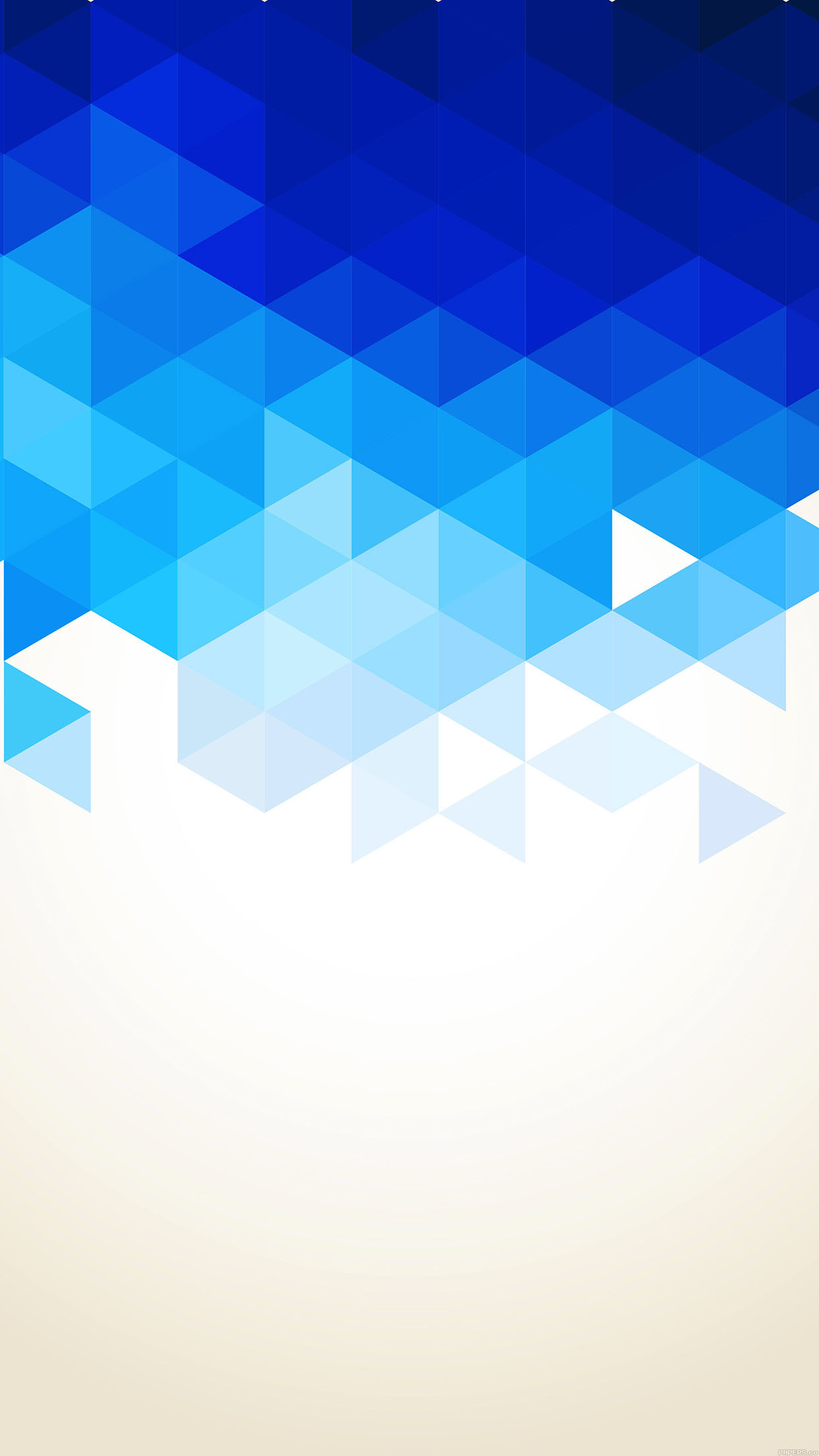 JomoJR blue apple iphone wallpaper hd abstract triangle background
