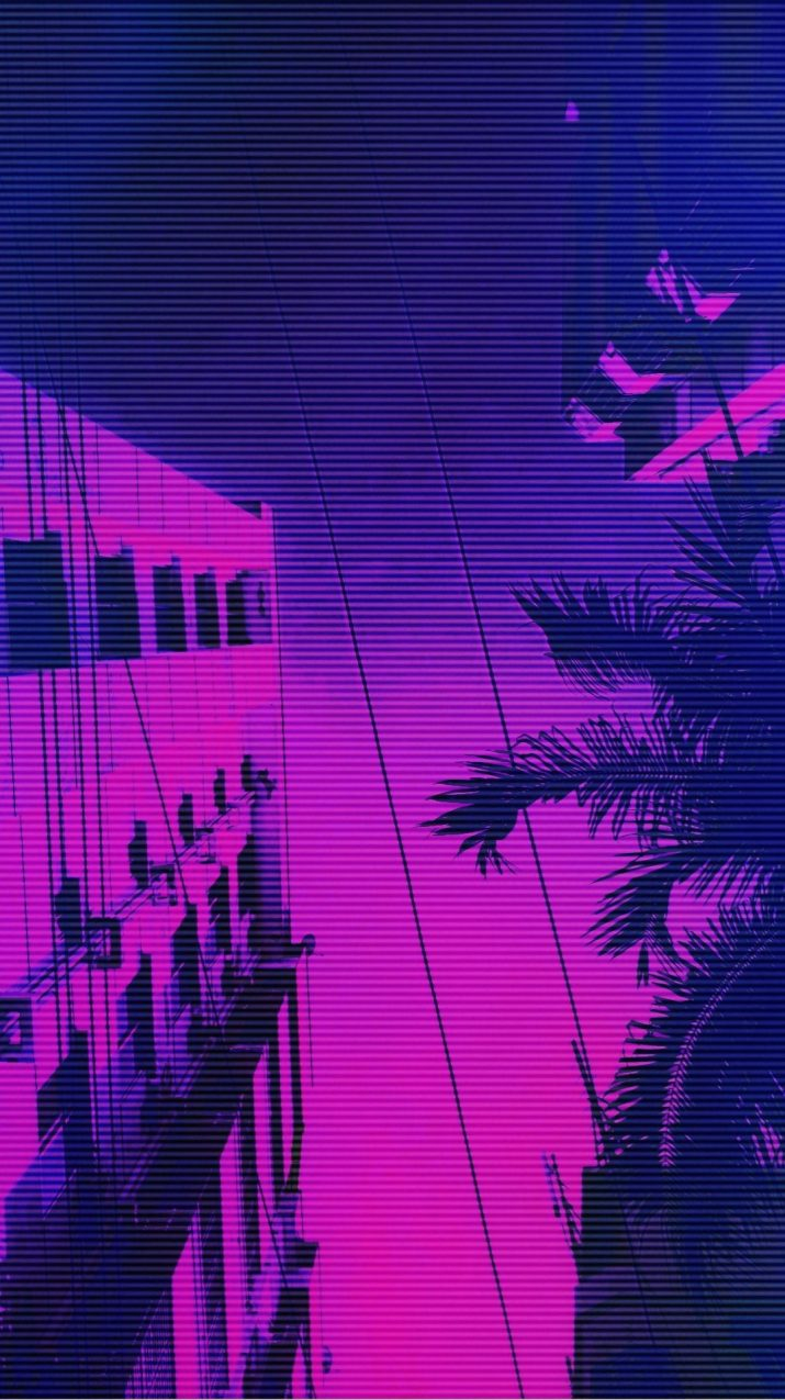 purple aesthetic wallpaper 0064