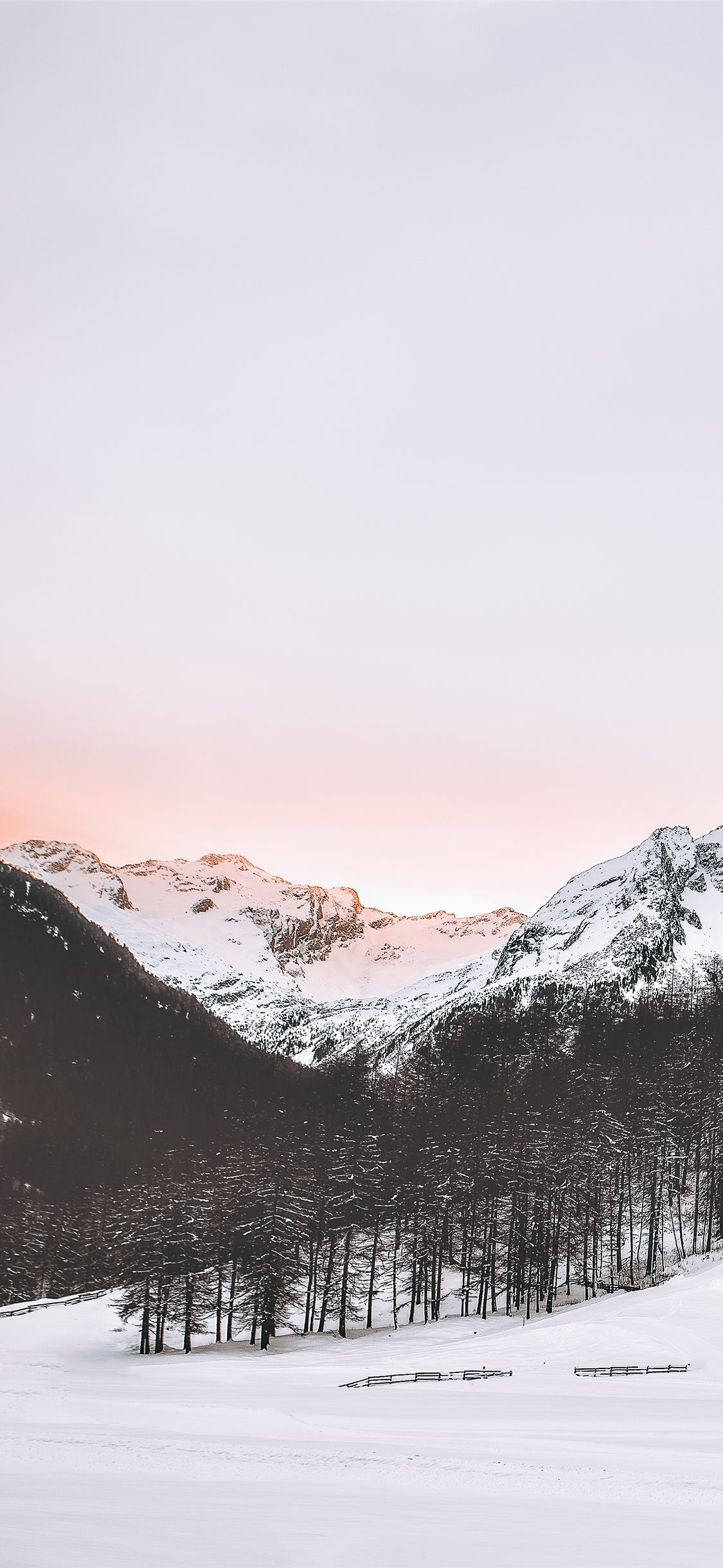 snow covered mountains iphone x wallpaper ilikewallpaper