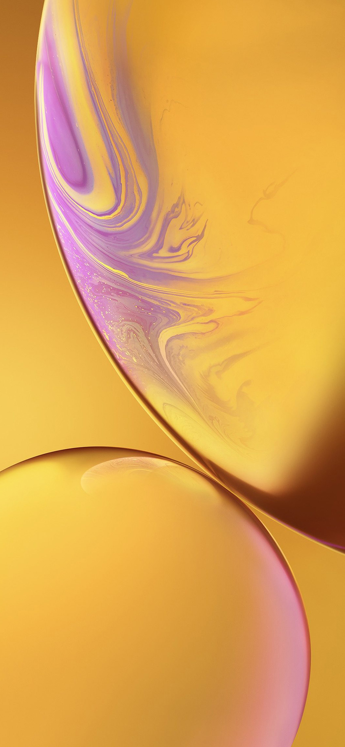 bg35 iphone xs max apple official art yellow bubble