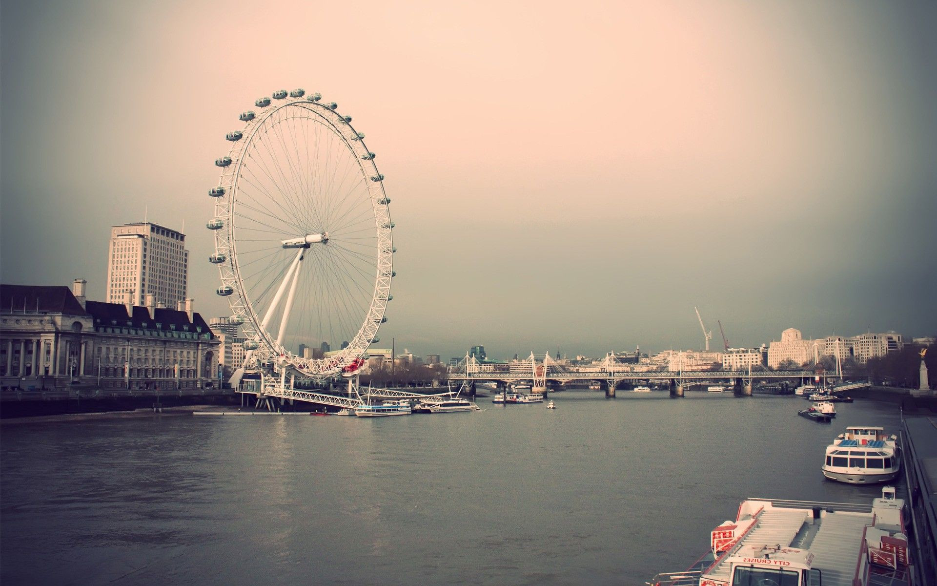 Thames London Eye I wanna go back