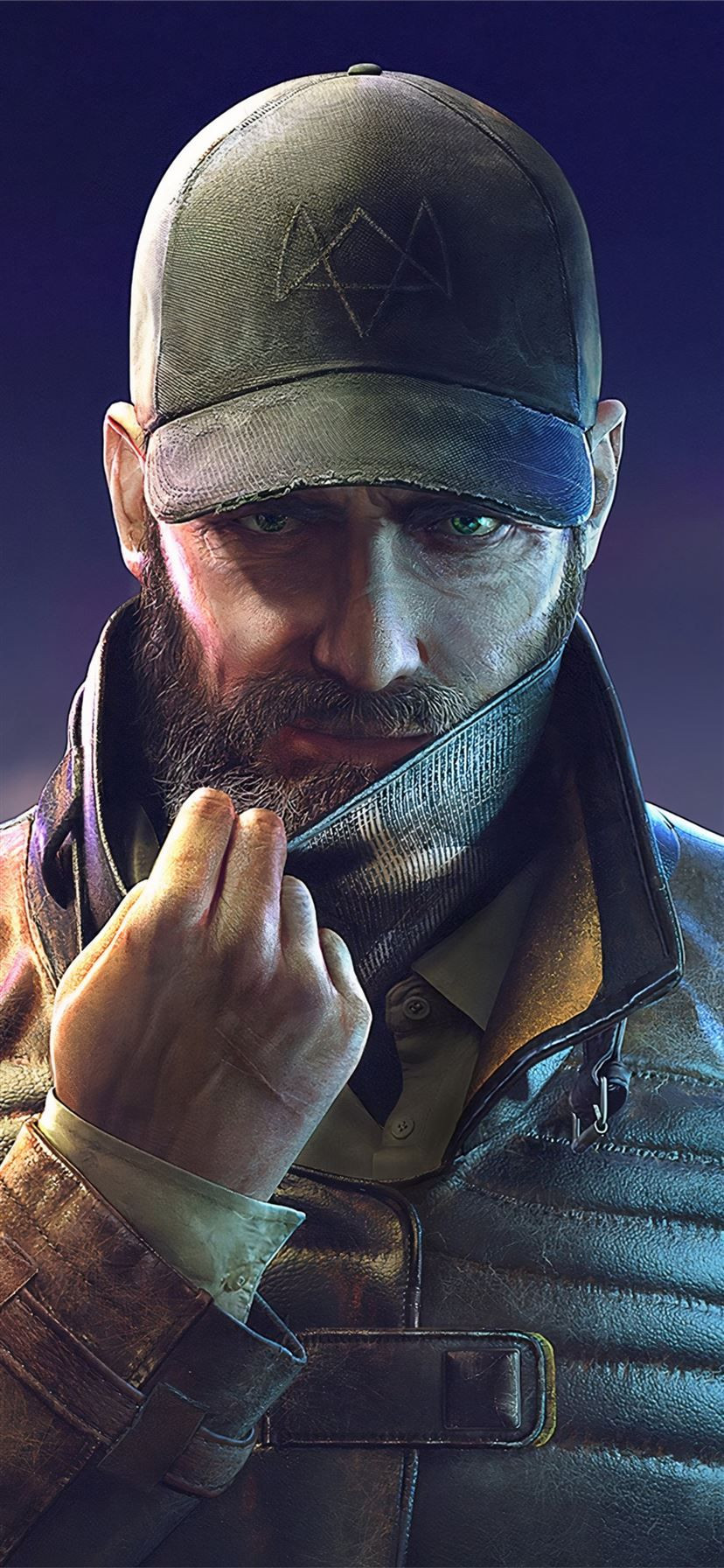 aiden pearce watch dogs legion 4k iPhone 11 Wallpapers