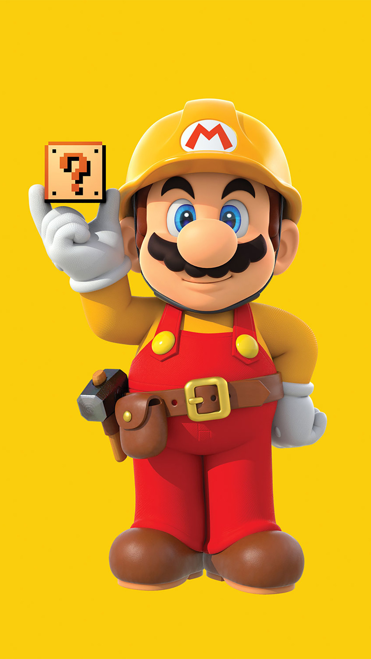 Super Mario Stand Up 3Wallpapers iPhone Parallax