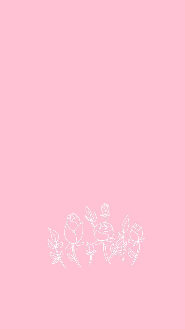 e edgy pastel pink aesthetic wallpaper