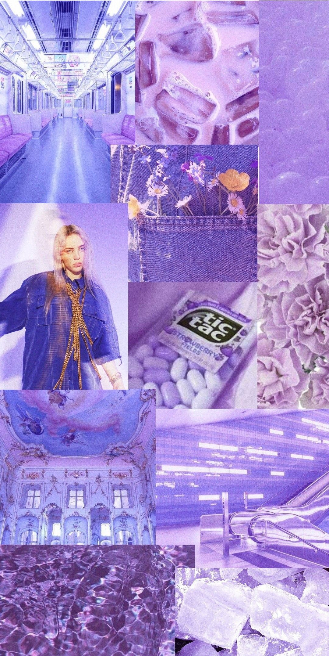 iRxRxbo pastel light purple aesthetic billie eilish wallpaper aesthetic