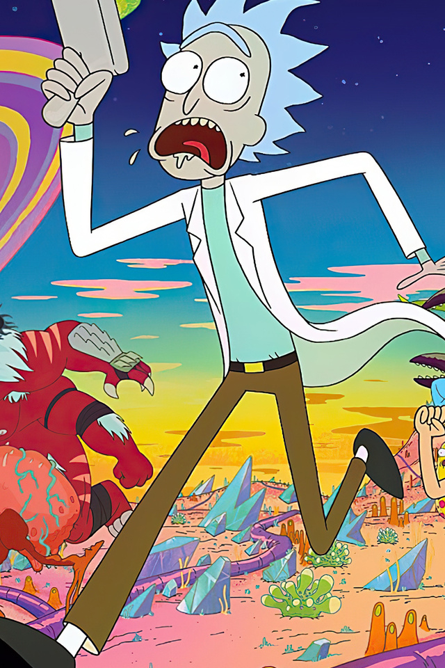 rick and morty adventures 4k