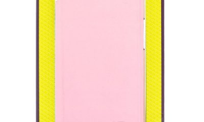 Rose Pink iPhone X Unique Ted Baker Sharita Mirror Folio Case with Outer Card Slot for