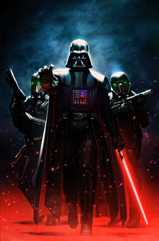 Star Wars Darth Vader 1 Animated Motion Art