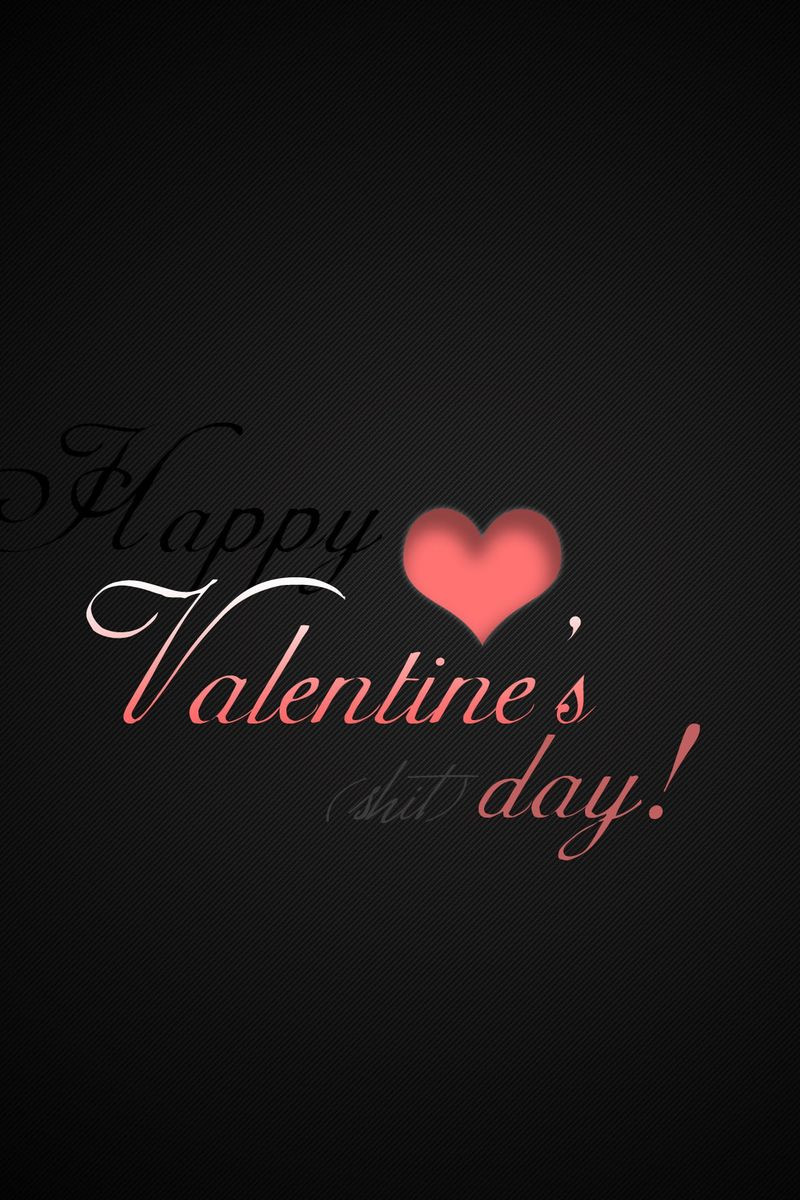 valentines day heart inscription black red 4869 800x1200