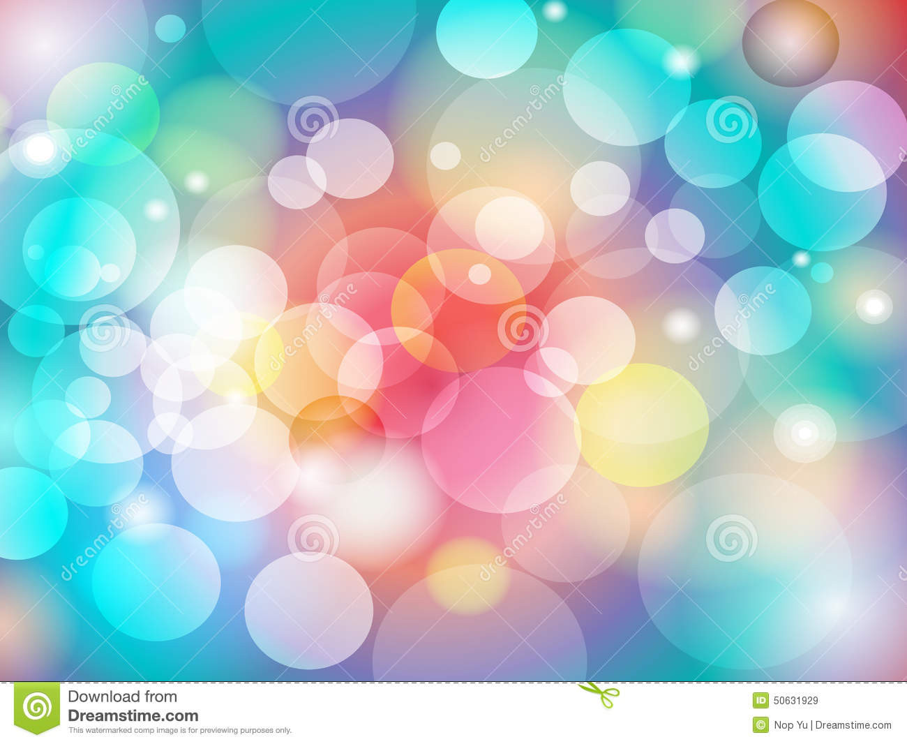 abstract colorful blur bokeh background design vector eps wallpaper