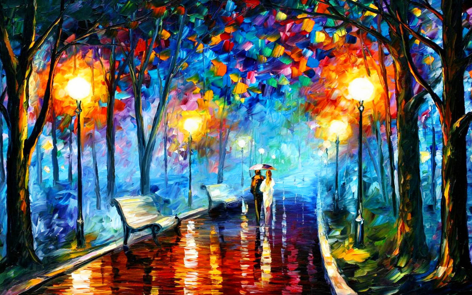 Colorful Paintings Wallpapers %