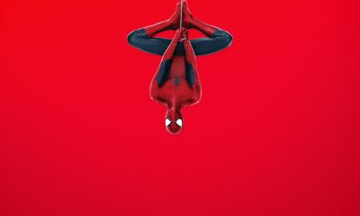 Wallpaper Red Background Awesome Spider Man Red Background Ultra Hd Desktop Background