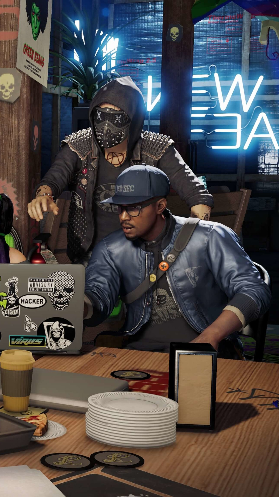 beautiful watch dogs 2 wallpaper for